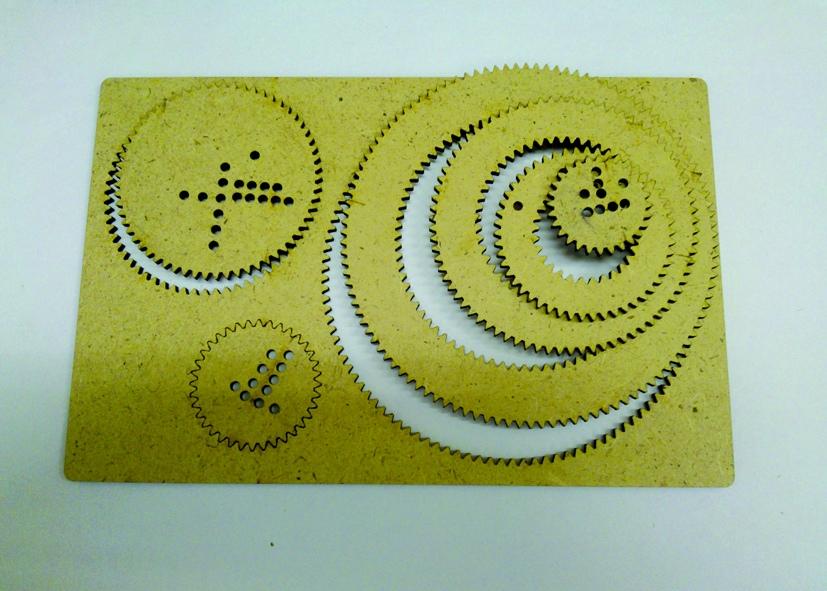 Laser Cut Wooden Spirograph Spiral Drawing Kit Free Vector