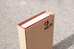 Laser Cut Book Slipcase DXF File