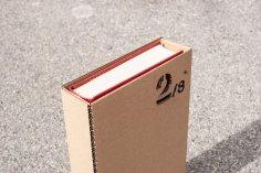 Laser Cut Book Slipcase DXF File