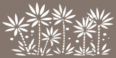 Tree Floral Pattern Vector Free Vector