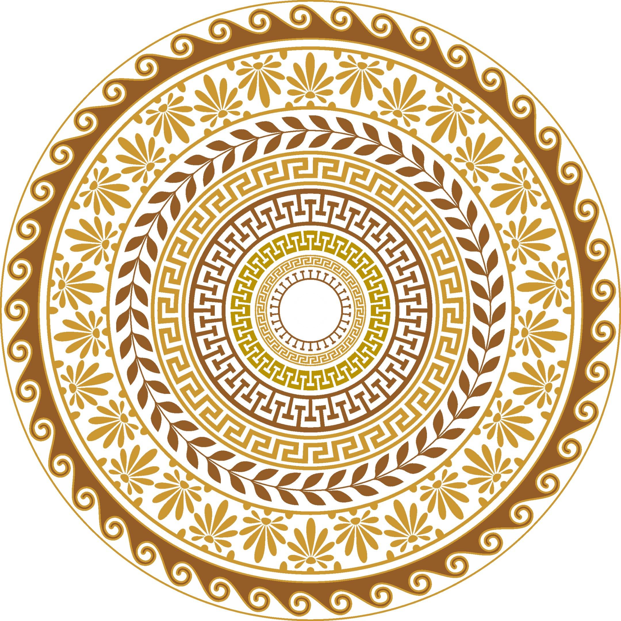 Gretskie Ornamenty Free Vector