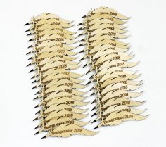 Laser Cut Feather Quill Pen Qalam Peacock Feather Pen Free Vector