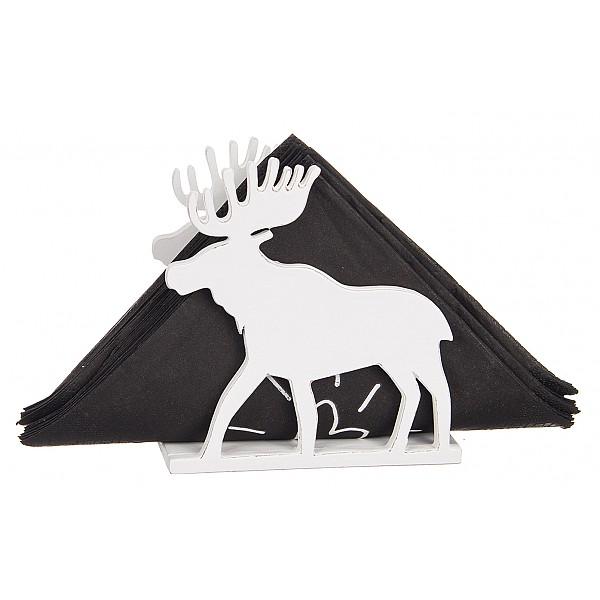 Laser Cut Elk Napkin Holder Template Free Vector