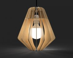 Laser Cut Lamp Shade Free Vector