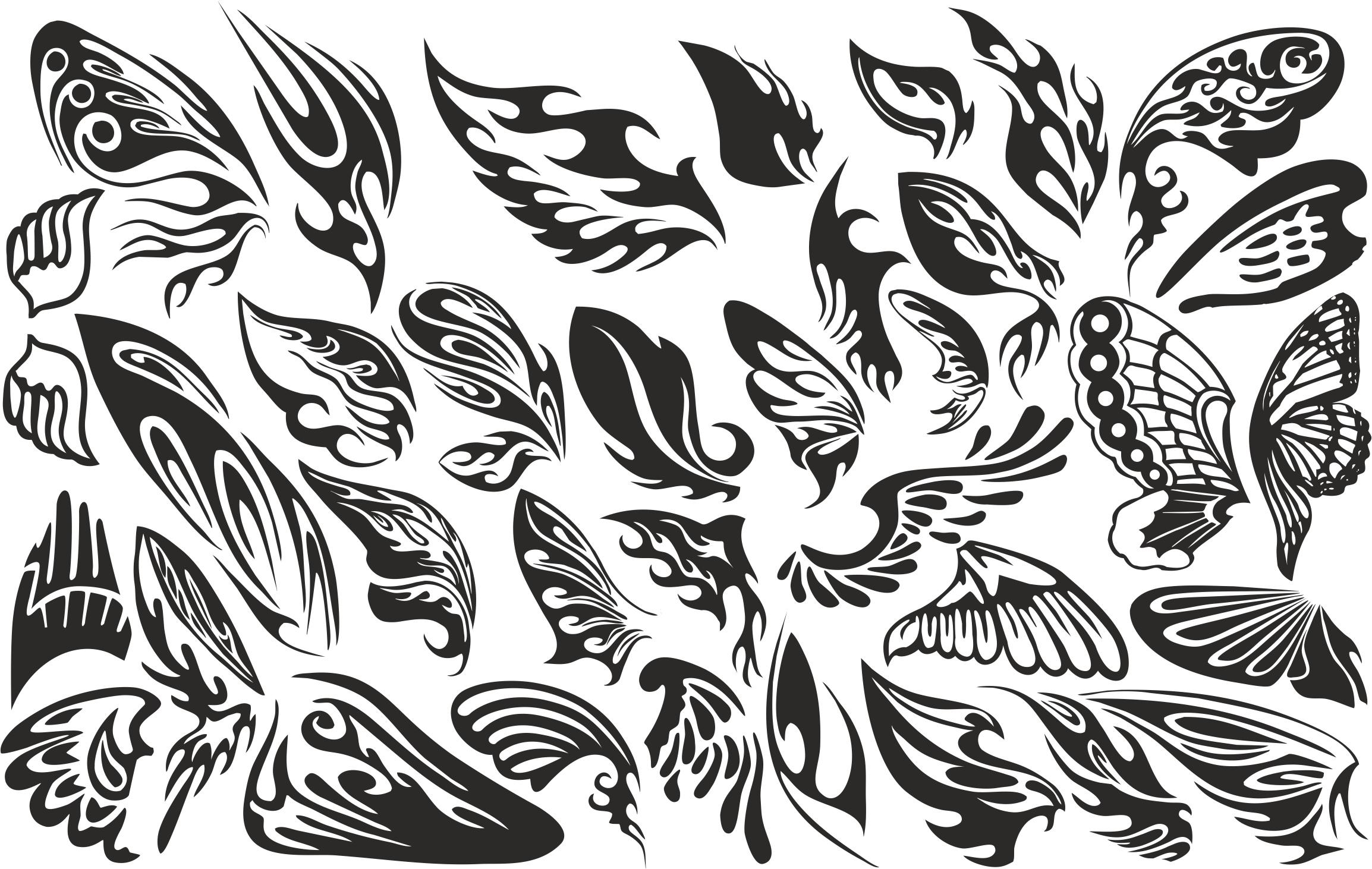 Wings Set Free Vector
