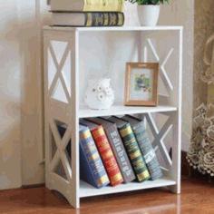 Laser Cut Compact Bookshelf Free Vector