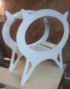 Laser Cut Cat Furniture Cat Bed Cat House Free Vector