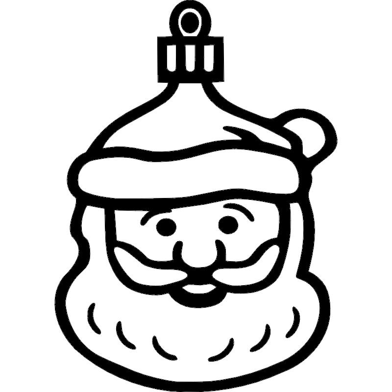 Santa dxf File