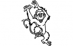Monkey dxf File