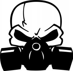Scull Decal Free Vector