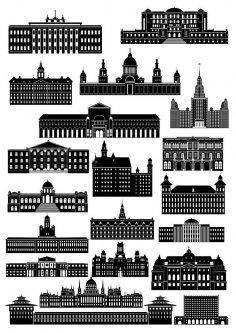 Buildings Free Vector