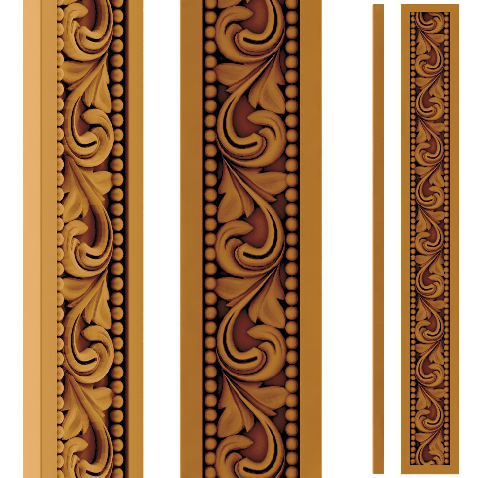 Wood Carving Pattern stl File