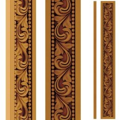 Wood Carving Pattern stl File