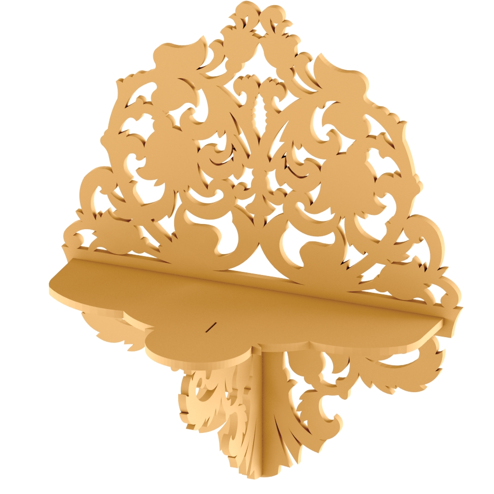 Plywood Shelf Vector DXF File