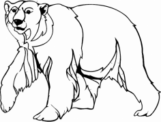 Bear 2 dxf File