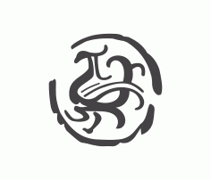 中国传统艺术 DXF File