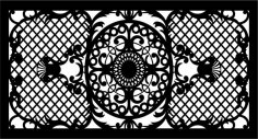 Decorative Panel For Wall Free Vector