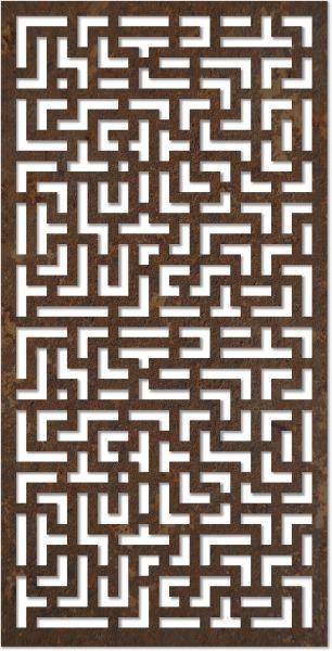 Mdf Jali Geometric Design Pattern Dxf File Free Download