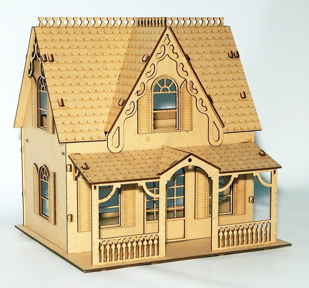House x16 DXF File