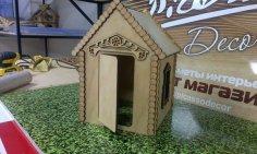 House 3D Puzzle Laser Cut