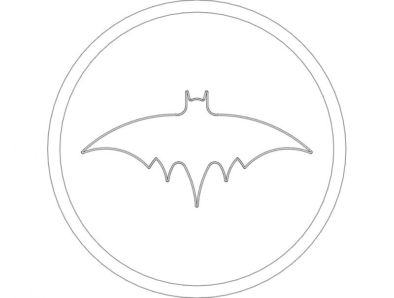 Bat 3 4-1-06 dxf File
