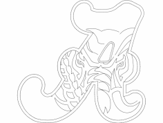 Alabama Elephant A dxf File