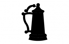 Beer Stein dxf File