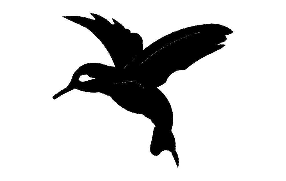 Hummingbird dxf File