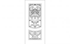 Door Design dxf File
