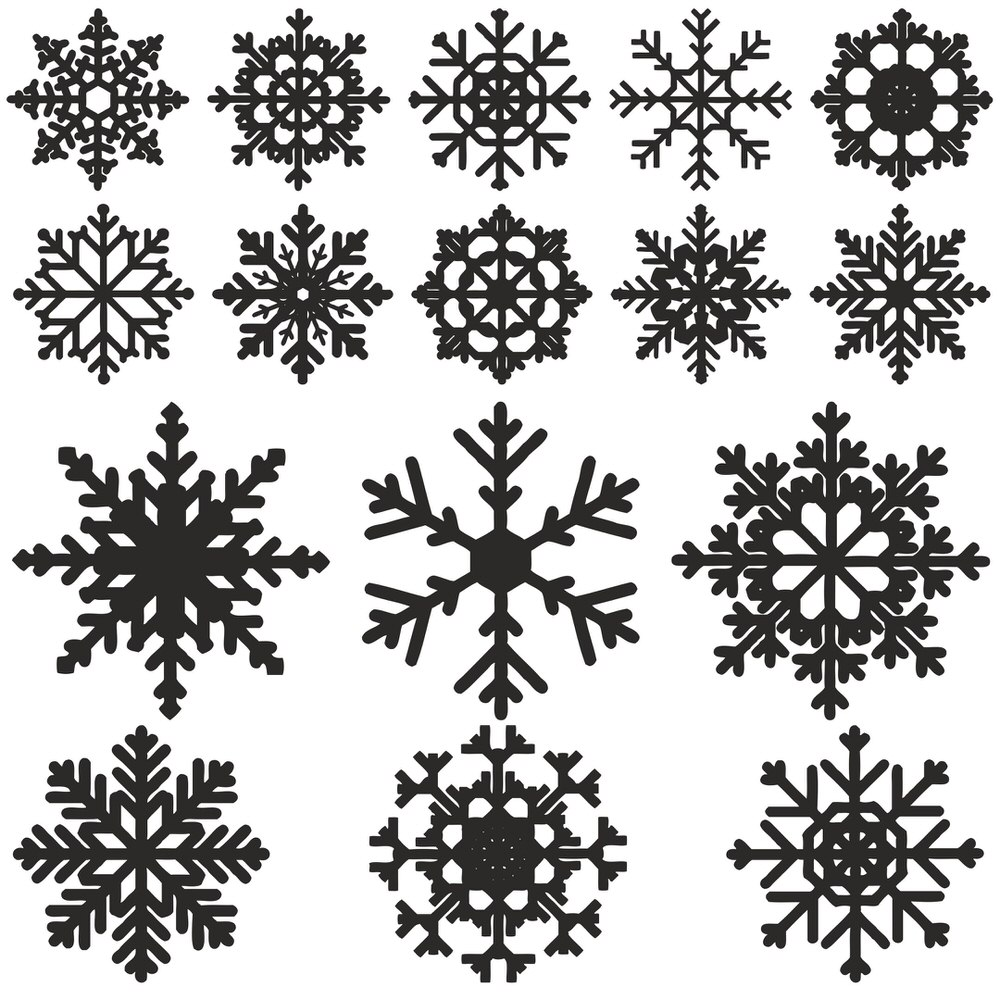 Snowflake Vector Free Vector Cdr Download 3axis Co