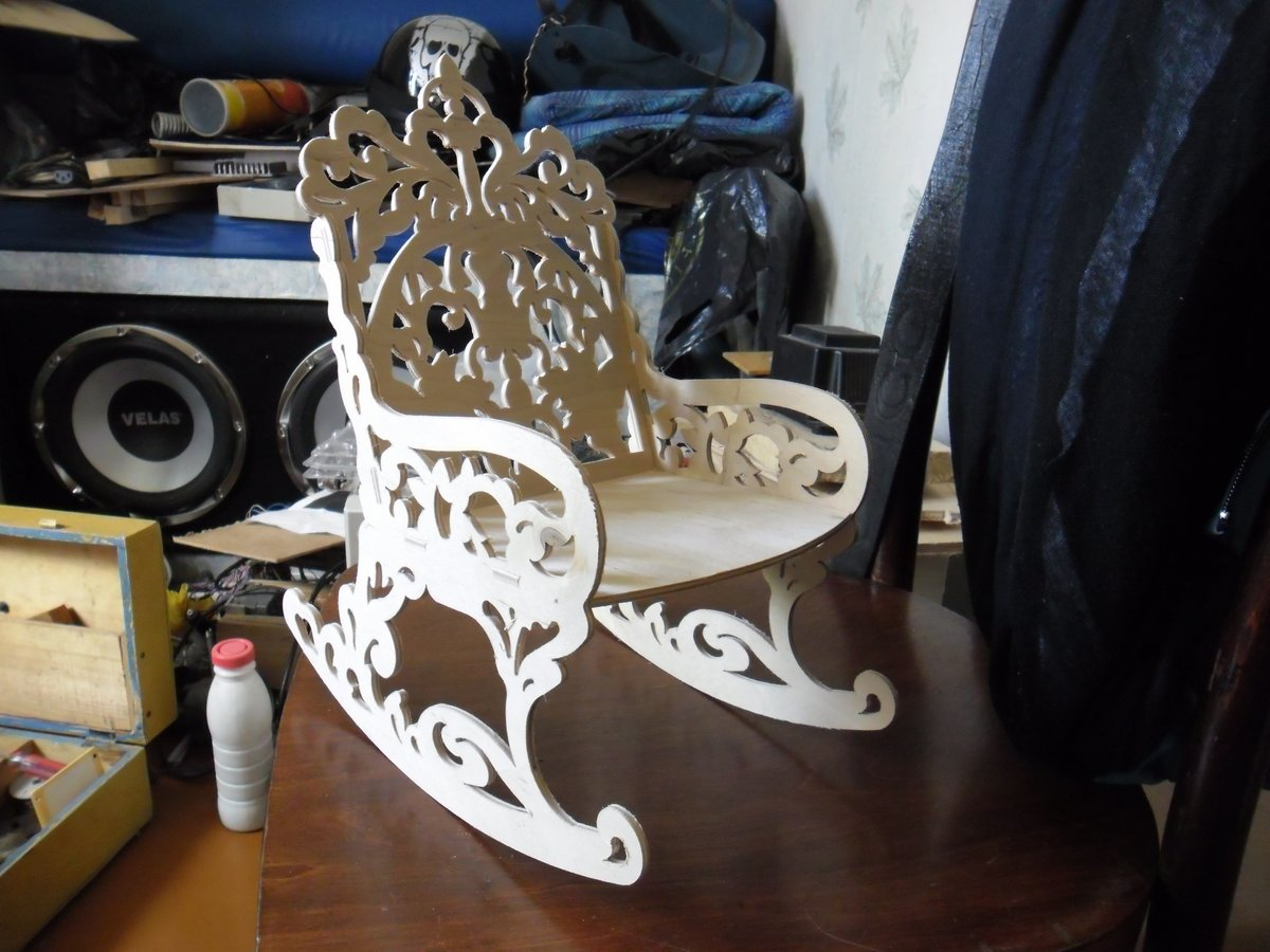 Rocking Chair DXF File