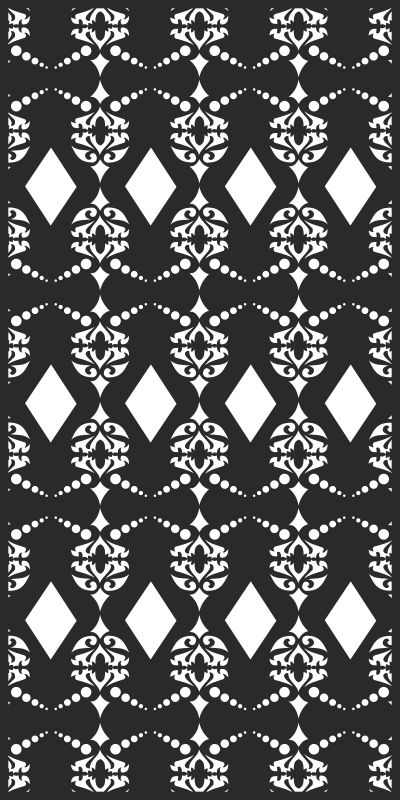 Vector Seamless damask pattern Free Vector