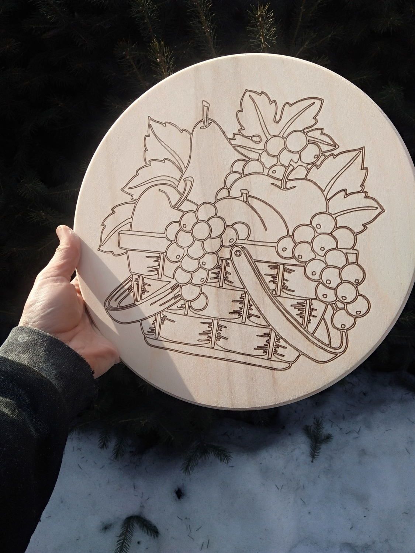 Laser Cut Engraving Design For Kitchen Free Vector
