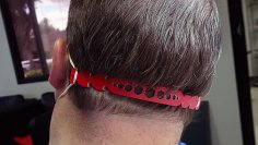 Laser Cut Ear Guards For Masks Free Vector
