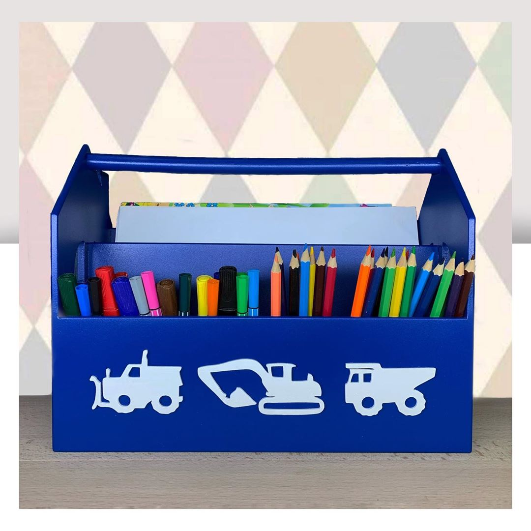Laser Cut School Stationery Creative Gift Pen Pencil Holder Container Box Set For Children 6mm Free Vector