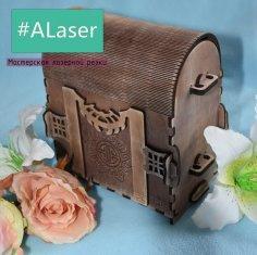 Laser Cut Bag Free Vector