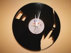 Orologio Vinile Disco LP Clock dxf file