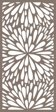 Seamless Floral Flourish Pattern Vector Free Vector