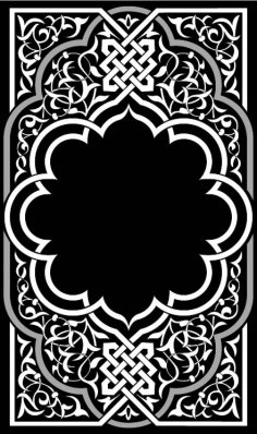Ornamental Eastern Design Free Vector