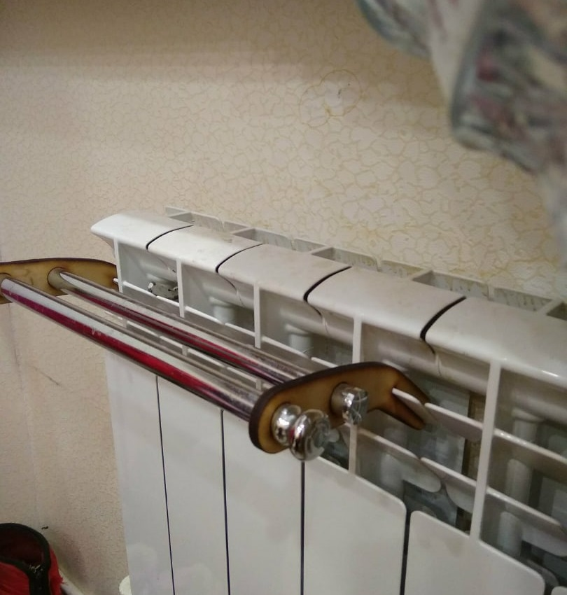 Laser Cut Towel Dryer Rack Towel Rail Free Vector
