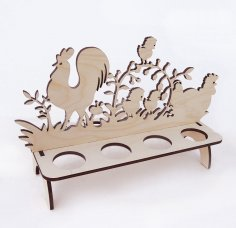 Laser Cut Easter Stand DXF File