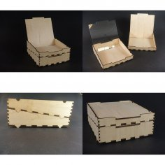 Stackbox Wedge DXF File