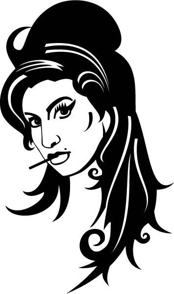 Amy Winehouse Vector Free Vector
