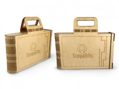 Laser Cut Scopabits Case SVG File