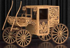Stage Coach Laser Cut Plans PDF File