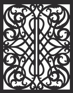 Panel Pattern DXF File