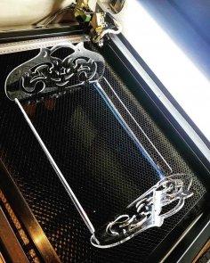 Acrylic Laser Cut Tray Free Vector