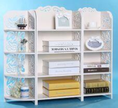 Laser Cut Storage Shelf Rack Free Vector