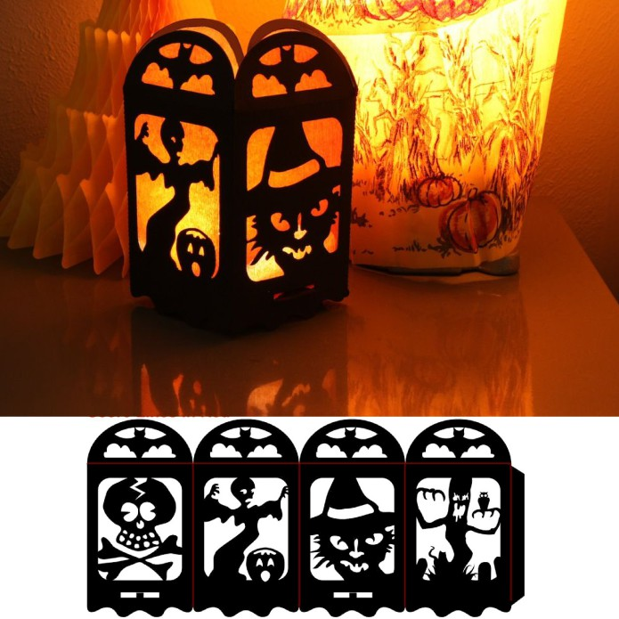 Halloween Lamp Dxf File Free Download 3axis Co