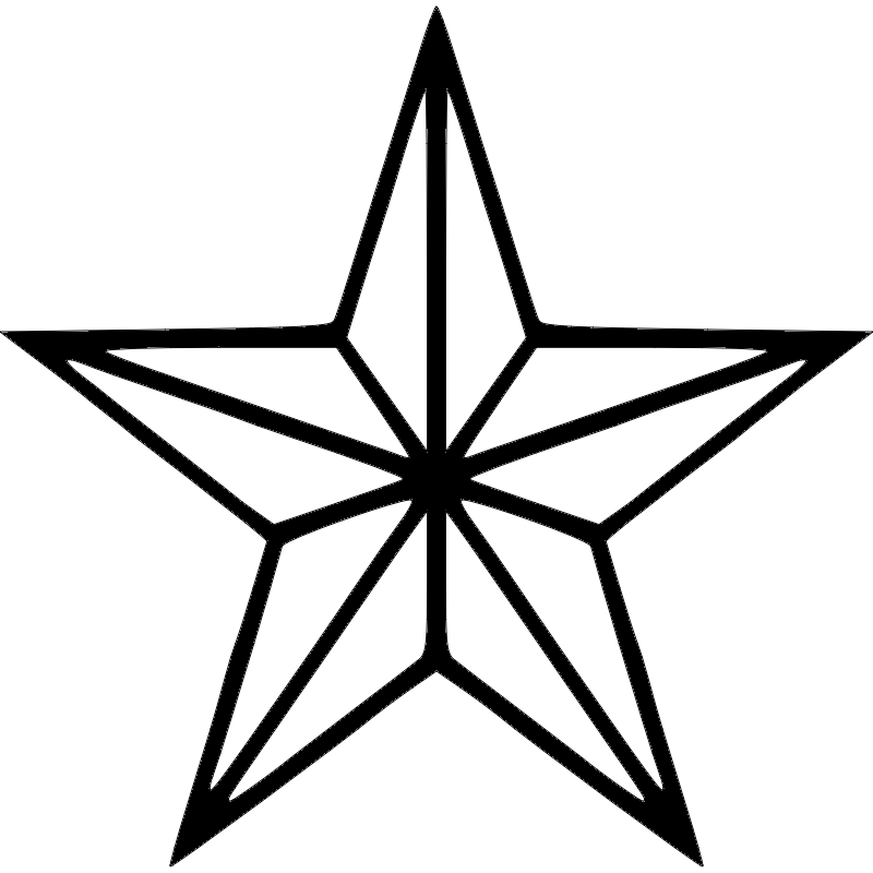 Star dxf File